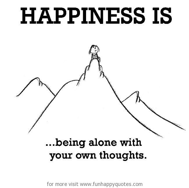 alone and happy quotes