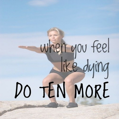 When You Feel Like Dying – Do Ten More