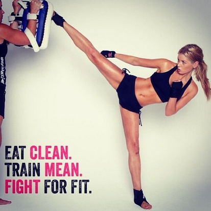 Eat Clean – Train Mean – Fight For Fit!
