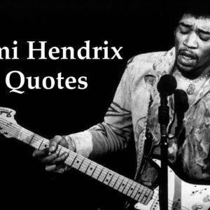 Jimi Hendrix Life Changing Quotes. Peace, Love, Music, and Happiness. Inspirational Positive Quotes